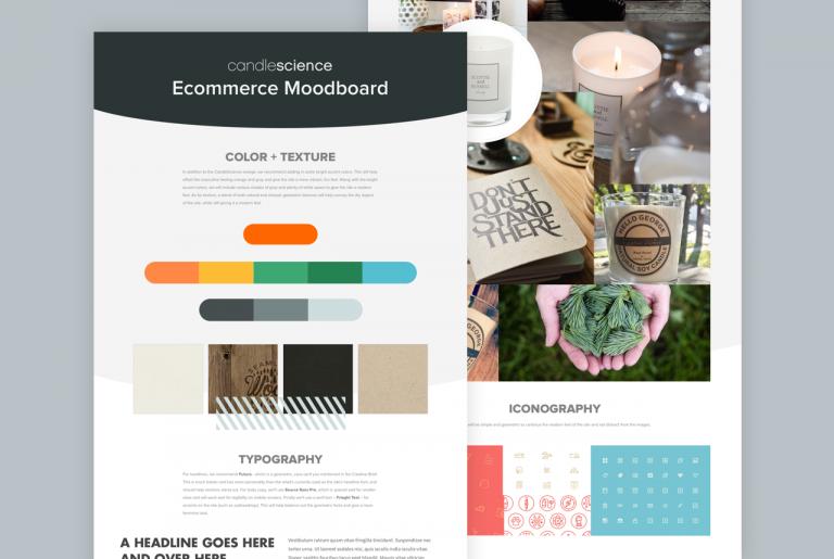 Website Moodboard